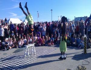 Street Tehatre Ireland Acrobatic Show