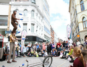 Street Theatre Ireland Uncycle Show